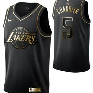 Men's Los Angeles Lakers #5 Tyson Chandler Jersey